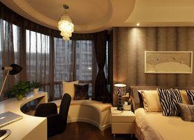 15-20万130平米三室两厅混搭风格卧室欣赏图