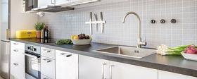 90平米混搭风格厨房效果图