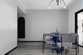 130平米三室兩廳現代簡約風格餐廳欣賞圖