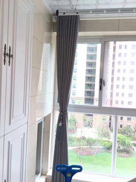 90平米三室一厅欧式风格阳台图片