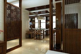 经济型140平米四室两厅中式风格餐厅设计图