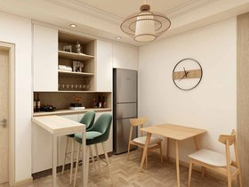 100平米三現代簡約風格餐廳裝修效果圖