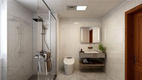 100平米三室两厅现代简约风格卫生间效果图