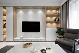 140平米三室一厅欧式风格书房设计图