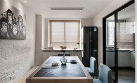 90平米三室一厅宜家风格餐厅图