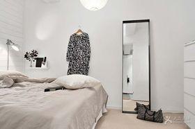经济型70平米一室一厅北欧风格卧室欣赏图