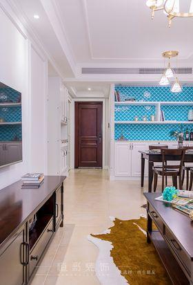 80平米三室两厅美式风格走廊图片大全