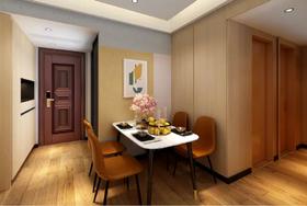 70平米三室两厅北欧风格餐厅装修图片大全