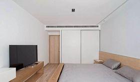 110平米三日式风格卧室欣赏图