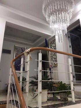 140平米四欧式风格楼梯间设计图