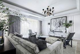 130平米公寓現代簡約風格客廳裝修效果圖
