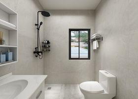 富裕型130平米三室一厅混搭风格卫生间欣赏图