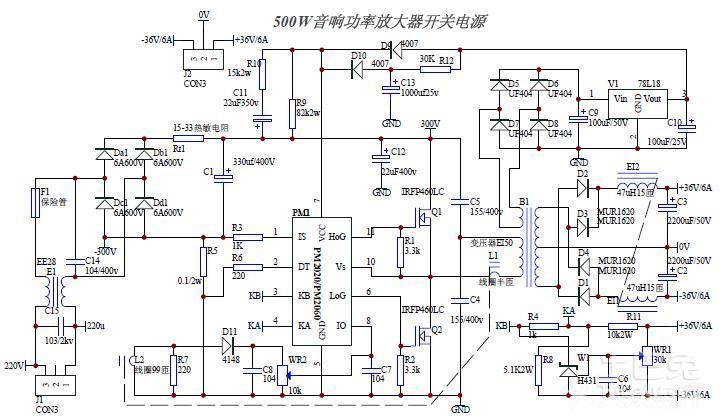 如何将【复杂】的电路图转化成【串联和并联都比较容易】看出来的电路
