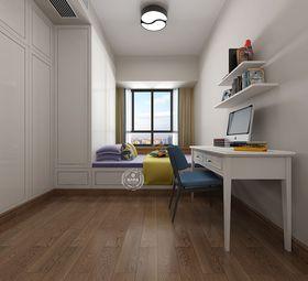 130平米三室两厅中式风格儿童房设计图