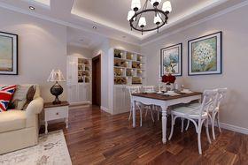 5-10万100平米三室两厅现代简约风格餐厅设计图
