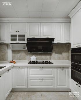 120平米三室兩廳美式風格廚房裝修圖片大全