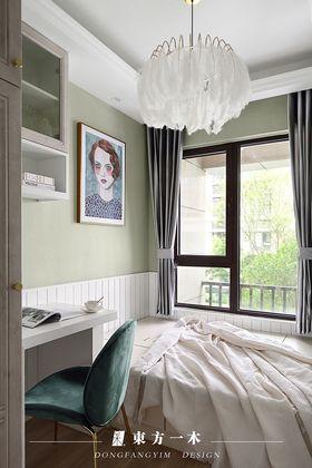 豪华型80平米三室两厅法式风格儿童房装修图片大全