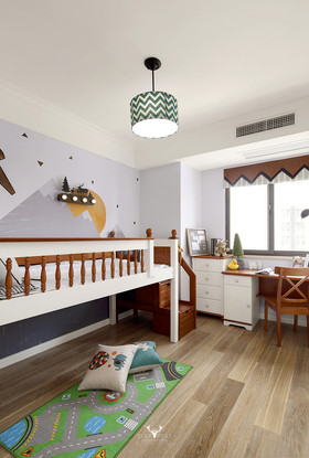 90平米混搭风格儿童房欣赏图