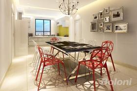 140平米四室兩廳現代簡約風格餐廳欣賞圖