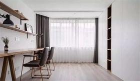 130平米三室兩廳北歐風格書房圖片