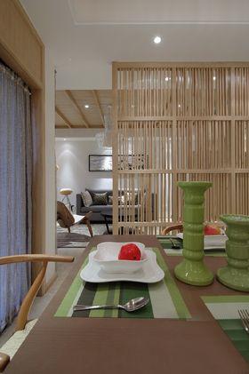 80平米中式风格餐厅装修图片大全