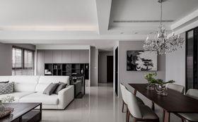 100平米三室两厅现代简约风格餐厅效果图