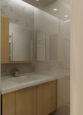 50平米日式风格卫生间装修效果图