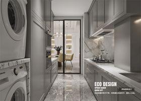 120平米三歐式風格廚房裝修效果圖