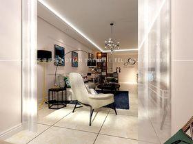 经济型110平米现代简约风格客厅图片