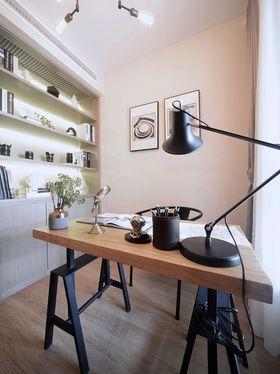 90平米现代简约风格书房图片