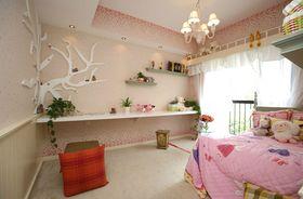 80平米三室一厅美式风格卧室装修效果图