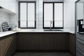 120平米三现代简约风格厨房装修图片大全