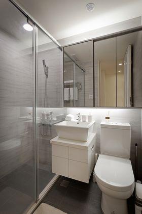 70平米一居室现代简约风格卫生间图片大全