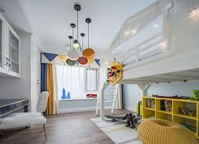 120平米三室兩廳美式風格兒童房圖
