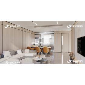 140平米三英伦风格客厅装修案例