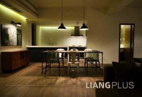 100平米北欧风格餐厅图片