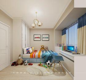 90平米三室两厅现代简约风格卧室图片