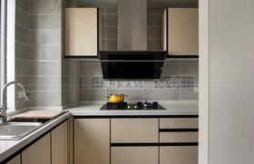 110平米三室一廳現代簡約風格廚房圖片大全