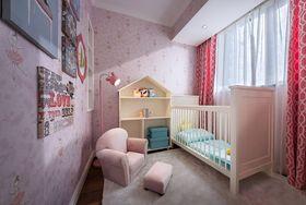 130平米三室两厅现代简约风格儿童房装修图片大全
