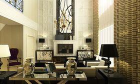 富裕型140平米四室两厅欧式风格客厅图片