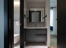 110平米公寓现代简约风格卫生间效果图
