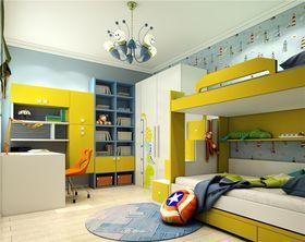 5-10万80平米现代简约风格儿童房图片