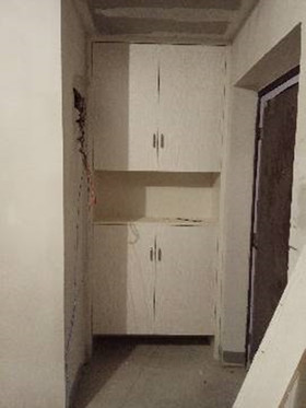 80平米三室两厅现代简约风格玄关装修图片大全