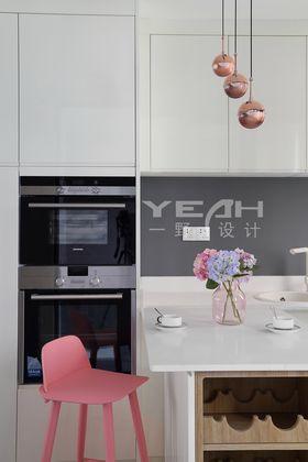 90平米复式现代简约风格厨房装修图片大全
