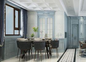 120平米三室兩廳歐式風格餐廳效果圖