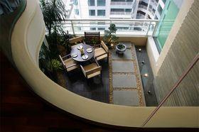 豪华型140平米别墅中式风格阳台装修效果图