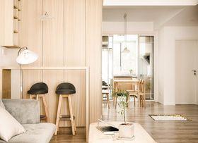 110平米三室一厅日式风格餐厅装修效果图