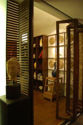 100平米三室一厅中式风格餐厅图