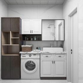 90平米现代简约风格其他区域装修案例