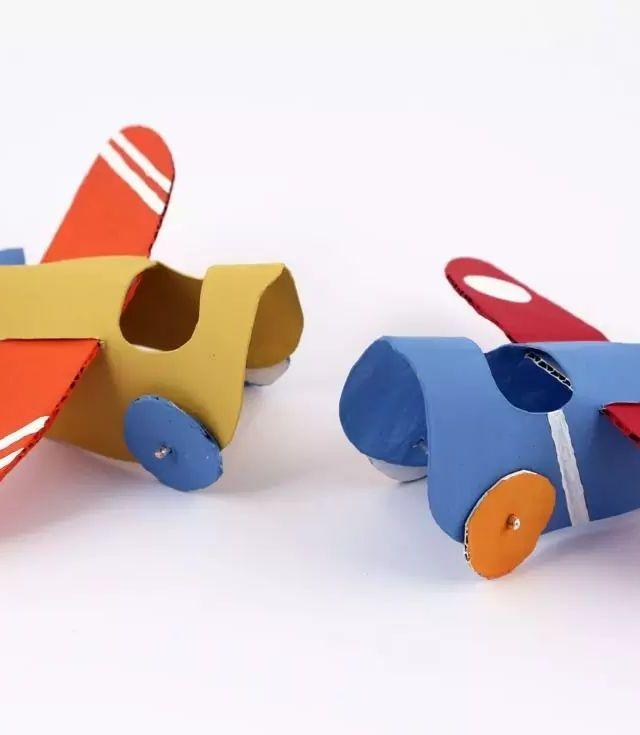 包装箱,卷纸筒,幼儿园废弃材料原来要这样用
